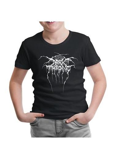 Lord Tshirt Dark Throne Siyah Çocuk Tshirt Siyah